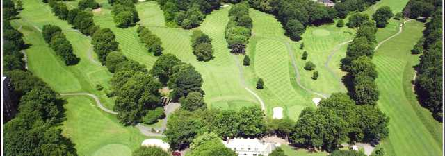 Silver Lake GC: aerial view