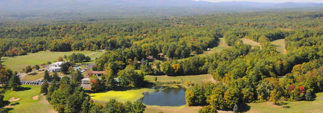 Thunderhart GC: aerial view