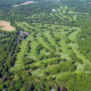 Brookville CC: Aerial view