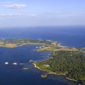 Fishers Island GCC: Aerial view