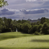 A view of the 17th green at Van Cortlandt Park Golf Course