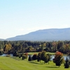 A view of the 14th hole at Sunny Hill Resort & Golf Course