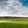 A view of hole #9 with water coming into play at Canajoharie Country Club