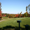 A view from tee #1 at Saratoga Lake Golf Club