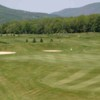 A view of the 6th green at Reservoir Creek Golf Course