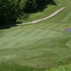 A view of green #10 at Reservoir Creek Golf Course