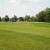 A view of fairway #18 at Massena Country Club