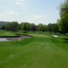 A view of fairway #1 at En-Joie Golf Course
