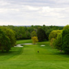 A view of a fairway at Locust Hill Country Club