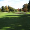 A view from a tee at McCann Memorial Golf Course