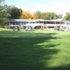 A view of the clubhouse at McCann Memorial Golf Course
