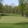 View of the 9th green at Mosholu Golf Course