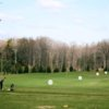 A view of the driving range at Mill Road Acres Golf Course
