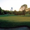 A spring view of green #10 at Dyker Beach Golf Course