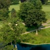 Aerial view from Plandome Country Club