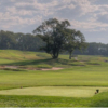 A view of a tee at Engineers Country Club