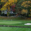 A fall view of a green at Apawamis Club