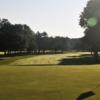 A view of a green at Woodside Club