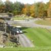 A view of a tee at Belden Hill Golf Course
