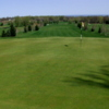 A view of hole #18 at Woodcrest Golf Club