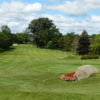 A view of the 6th tee and fairway at Owasco Country Club