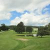 A view of a fairway at Cortland Country Club