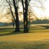 A view of a green at Glen Oak Golf Course
