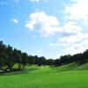 A view of a fairway at Lockport Town & Country Club