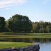 A view over the water from Willowbrook Golf Course