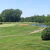 A view of a green at Willowbrook Golf Course