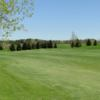 A view of a fairway at Hales Mills Country Club