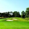 A view from a fairway at Island Hills Golf Club