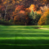 A view from fairway #2 at Port Jefferson Country Club from Harbor Hills