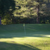 A view of a hole at Island Valley Golf Course