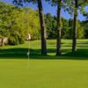 A view of a hole at Monroe Golf Club