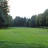A view from a tee at Arrowhead Golf Club