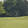 A sunny day view from a fairway at Glen Cove Golf Club