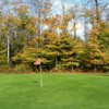 A view of a hole at Butternut Valley Golf