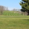 A fresh spring view of a green at Butternut Valley Golf