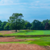 A view of a tee at Sands Point Golf Club