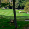A view of a green at Tupper Lake Country Club