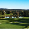 A view of a hole at Columbia Golf & Country Club