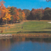 A fall view from Executive at Rockland Lake Golf Course