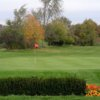 A view of hole #17 at Elm Tree Golf Course