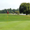 A view of a hole at Beaver Island State Park Golf Course