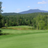 View of a green at High Peaks Golf Course