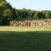 A view of a hole at Hardwood Hills Golf Course
