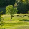 A view of a tee at Town of Wallkill Golf Club