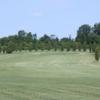 A view of a fairway at Cedar View Golf Course