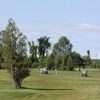 A sunny day view from Cedar View Golf Course